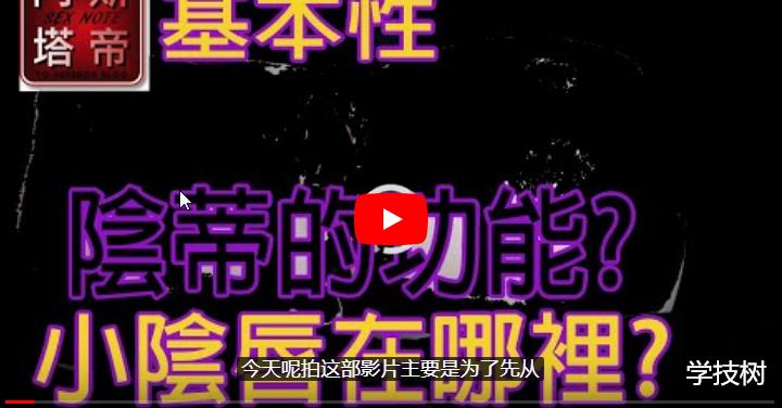 阿斯塔帝的《潮吹教學》等性教育视频