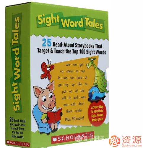 20190918-学乐高频词绘本Sight Word Tales