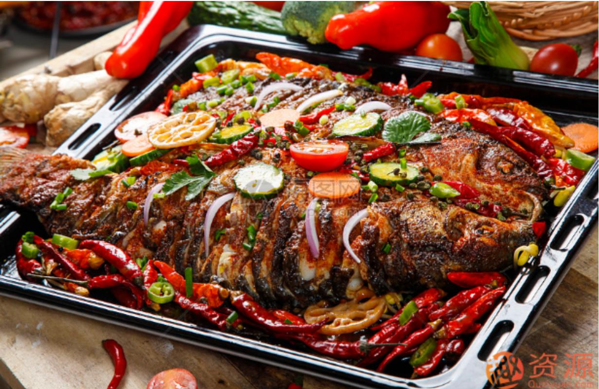 烤鱼、酸菜鱼、纸包鱼配方资料教程合集