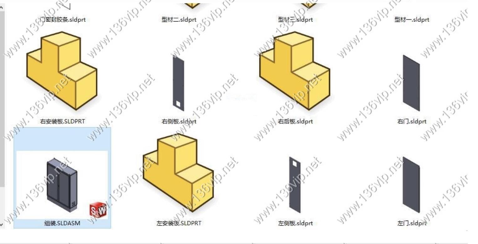 300多套SolidWorks钣金图纸[钣金必备] 百度网盘