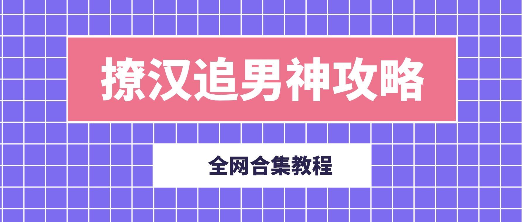撩汉追男神攻略合集 百度网盘
