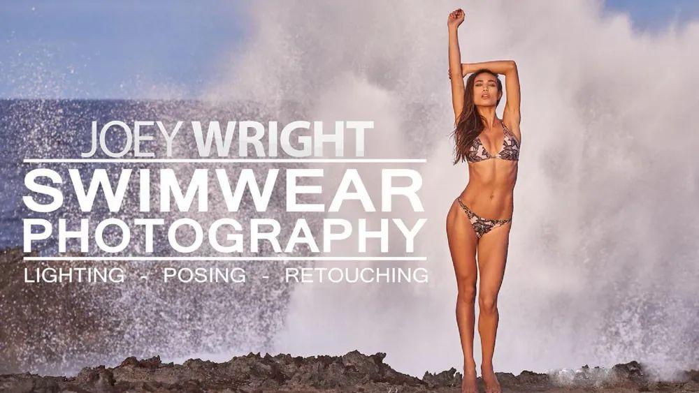 Fstoppers – Joey Wright商业泳装摄影-布光摆姿修饰教程(中英字幕) 百度网盘