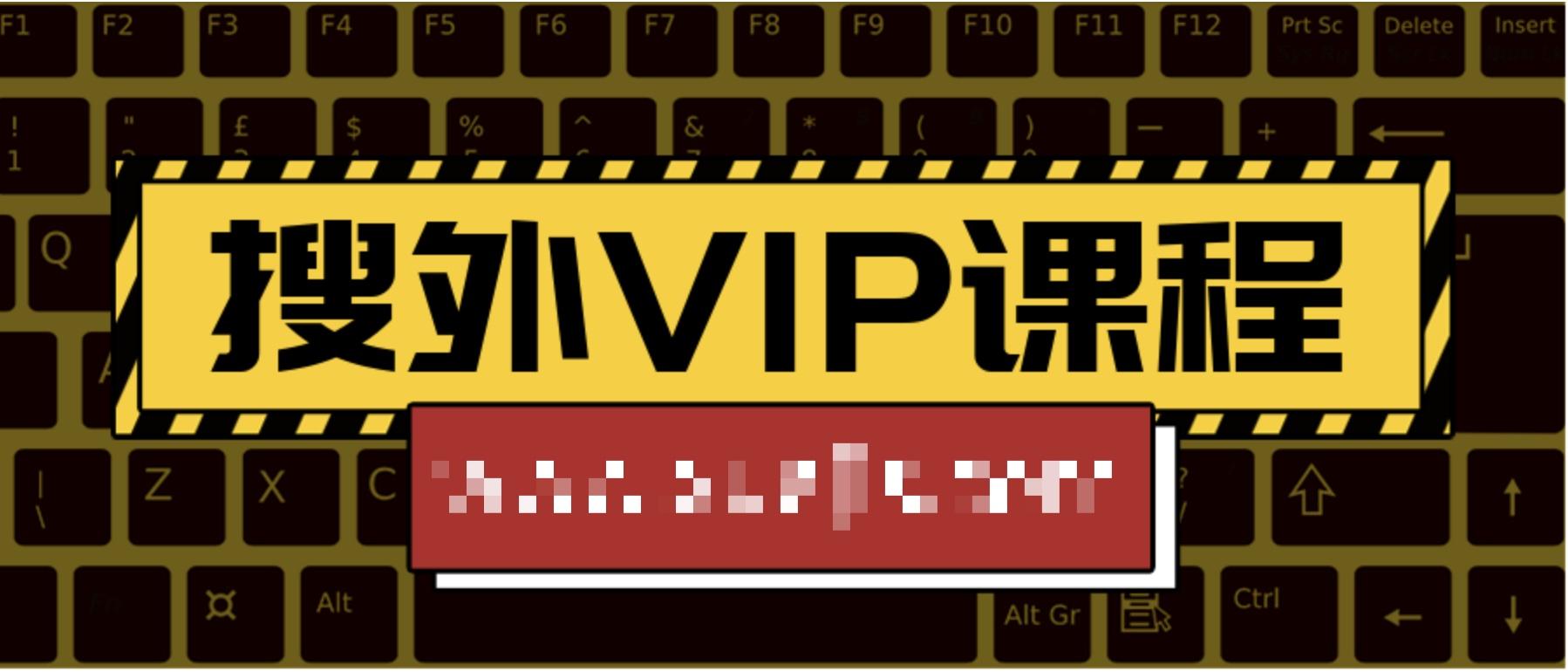搜外VIP课程  百度网盘