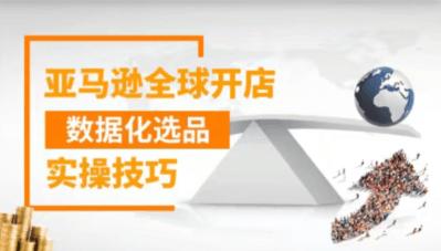 亚马逊全球开店数据化选品实操技巧价值399元-百度云下载_趣资料教程视频