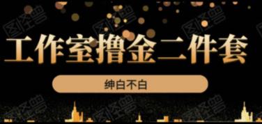《绅白不白工作室撸金二件套》价值399元-百度云下载_趣资料教程资源
